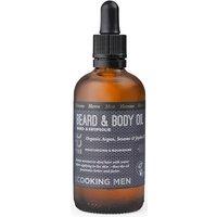 Ecooking Men Beard & Body Oil 100ml