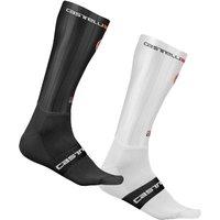 Castelli Fast Feet Socks - XXL - White