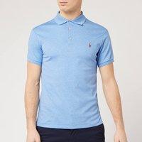 Polo Ralph Lauren Mens Pima Cotton Slim Fit Polo Shirt - Soft Royal Heather - M