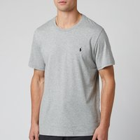 Polo Ralph Lauren Mens Liquid Cotton Jersey T-Shirt - Heather Grey - S