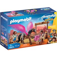Playmobil: The Movie Marla and Del with Flying Horse (70074) - Horse Gifts