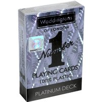 Waddingtons Number 1 Playing Cards - Platinum Edition