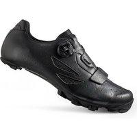 Lake MX218 Carbon Wide Fit MTB Shoes - Black/Grey - EU 46