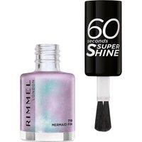 Rimmel 60 Seconds Super-Shine Nail Polish (Various Shades) - Mermaid Fun