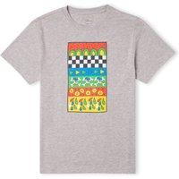 Donald Duck Vintage Pattern Men's T-Shirt - Grey - XXL - Grey