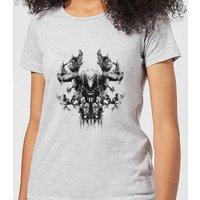 Avengers Endgame Thanos Rorschach Women's T-Shirt - Grey - 5XL - Grey
