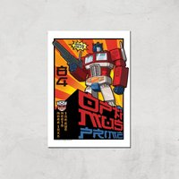 Transformers Roll Out Poster Art Print - A4 - Print Only - Poster Gifts