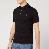 Polo Ralph Lauren Mens Slim Fit Soft Touch Polo Shirt - Polo Black - XXL