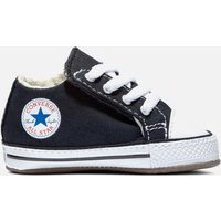 Converse Babies' Chuck Taylor All Star Cribster Soft Trainers - Black - UK 1 Baby - Black