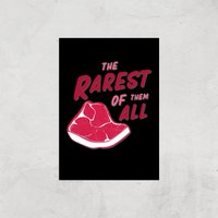 The Rarest Of Them All Art Print - A3 - Print Only