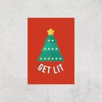 Get Lit Art Print - A3 - Print Only
