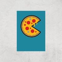 PIzza Art Print - A4 - Print Only