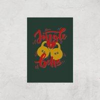 Jingle (Kettle) Bells Art Print - A3 - Print Only