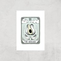 The Avocado Art Print - A3 - Print Only