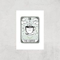 The Coffee Art Print - A4 - Print Only - Coffee Gifts