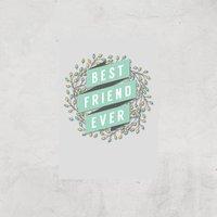 Best Friend Ever Art Print - A3 - Print Only