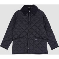 Barbour Boys Liddesdale Quilted Jacket - Black - L (10-11 Years)