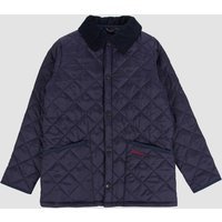 Barbour Boys Liddesdale Quilted Jacket - Navy - S (6-7 Years)