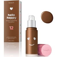 benefit Hello Happy Flawless Liquid Foundation (Various Shades) - Shade 12