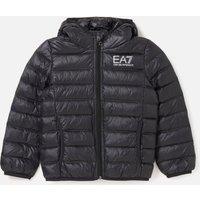 Emporio Armani EA7 Boys' Sporty Core Identity Hooded Jacket - Black - 10 Years