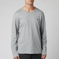 Polo Ralph Lauren Mens Long Sleeve Liquid Jersey T-Shirt - Andover Heather - S