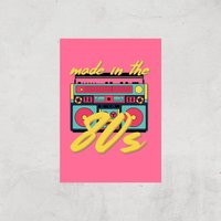 Made In The 80s Boombox Art Print - A4 - Print Only