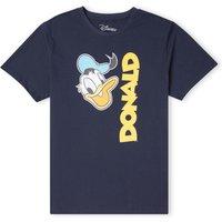 Disney Donald Duck Face Men's T-Shirt - Navy - XS - Navy