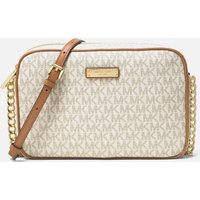 MICHAEL Michael Kors Women's Jet Set Large East West Cross Body Bag - Vanilla