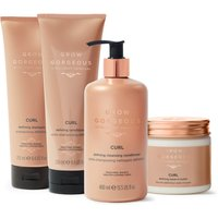 Grow Gorgeous Curl Collection (Worth PS83.00)