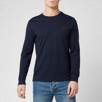 Polo Ralph Lauren Mens Long Sleeve Basic Cotton Top - Ink - L