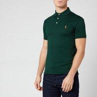 Polo Ralph Lauren Men's Pima Soft Touch Slim Fit Short Sleeve Polo Shirt - College Green - XXL