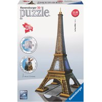 Ravensburger Eiffel Tower Building 3D Jigsaw Puzzle (216 Pieces) - Ravensburger Gifts