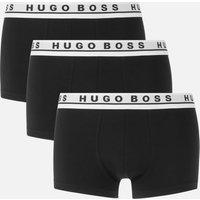 BOSS Men's Triple Pack Boxer Shorts - Black/White - M