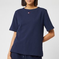 Tommy Hilfiger Women's Flag Core T-Shirt - Navy Blazer - L