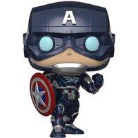 Marvel Avengers Game Captain America (Stark Tech Suit) Pop! Vinyl Figure