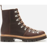 Grenson Men's Brady Leather Hiking Style Boots - Brown - UK 8