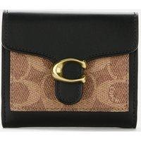 Coach Women's Colorblock Tabby Small Wallet - Tan Black