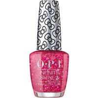 OPI Hello Kitty Limited Edition Nail Polish - Dream in GlitterInfinite Shine 15ml