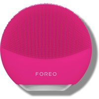 FOREO LUNA Mini 3 Dual-Sided Face Brush for All Skin Types (Various Shades) - Fuchsia