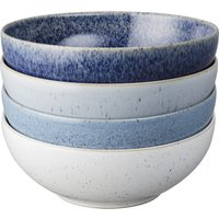 Denby Studio Blue 4 Piece Cereal Bowl Set
