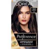 L'Oreal Paris Preference Infinia Hair Dye (Various Shades) - 3.0 Brasilia Dark Brown