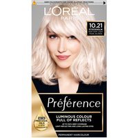 L'Oreal Paris Preference Infinia Hair Dye (Various Shades) - 10.21 Stockholm Very Light Pearl Blonde