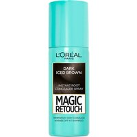 L'Oreal Paris Magic Retouch Temporary Instant Root Concealer Spray 75ml (Various Shades) - Dark Iced