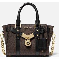 MICHAEL Michael Kors Women's Nouveau Hamilton Xs Cross Body Bag - Brown/Blk