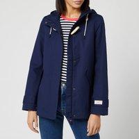 Joules Womens Coast Waterproof Jacket - French Navy - UK 14