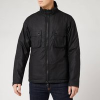 Barbour International Mens Tennant Wax Jacket - Black - S