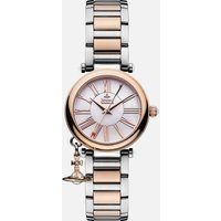 Vivienne Westwood Womens Mother Orb Watch - Silver/Gold