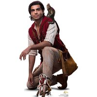 Aladdin and Abu (Mena Massoud - Aladdin Live Action) Life Size Cut-Out
