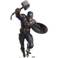 Marvel Captain America Mjolnir Mega Cardboard Cut-Out - Marvel Gifts