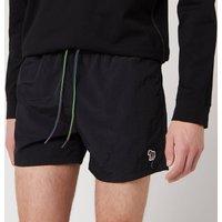 PS Paul Smith Men's Zebra Logo Swimshorts - Black - L
